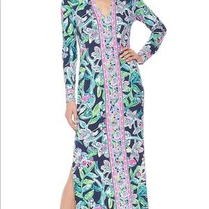Lilly Pulitzer UPF 50+ Faye Maxi Dress